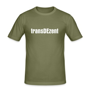 trans DEzent - Men's Slim Fit T-Shirt