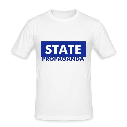 Mens State Propaganda Tee - Men's Slim Fit T-Shirt