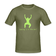 T-shirts ~ slim fit T-shirt ~ T-shirt Spring 's in the air!