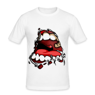 T-Shirts ~ Men's Slim Fit T-Shirt ~ ANGRY MOUTH