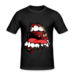 ANGRY MOUTH - Men's Slim Fit T-Shirt