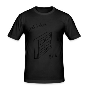 Architecture Is Brill - Men's Slim Fit T-Shirt