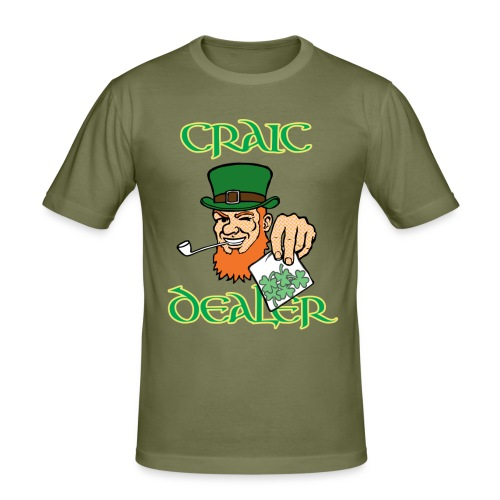 Craic Dealer TShirt - Men's Slim Fit T-Shirt