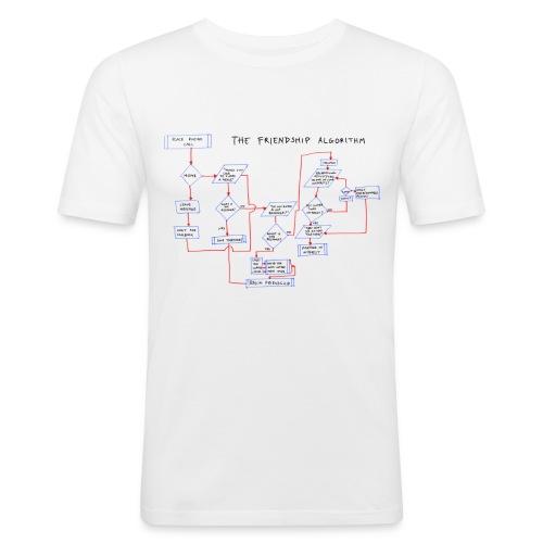 The Friendship Algorithm (Big Bang Theory) mannen shirt - slim fit T-shirt