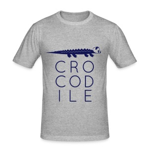 _croc slim - Männer Slim Fit T-Shirt