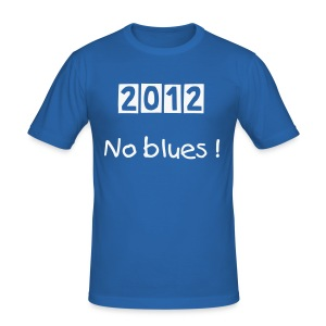 No blues ! - Tee shirt près du corps Homme