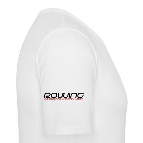 Rudern T-Shirt Weiß Männer - Männer Slim Fit T-Shirt