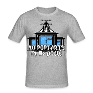 T-Shirts ~ Men's Slim Fit T-Shirt ~ No Poptarts In My Dojo V1
