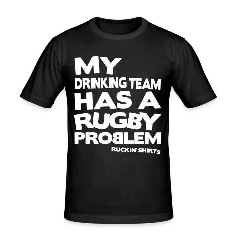 My Drinking Team - Men's Slim Fit T-Shirt