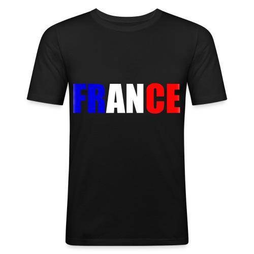 T shirt homme france - T-shirt près du corps Homme