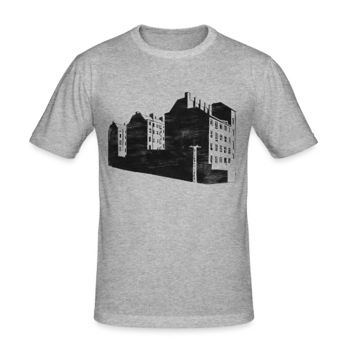 Brandwand - Männer Slim Fit T-Shirt