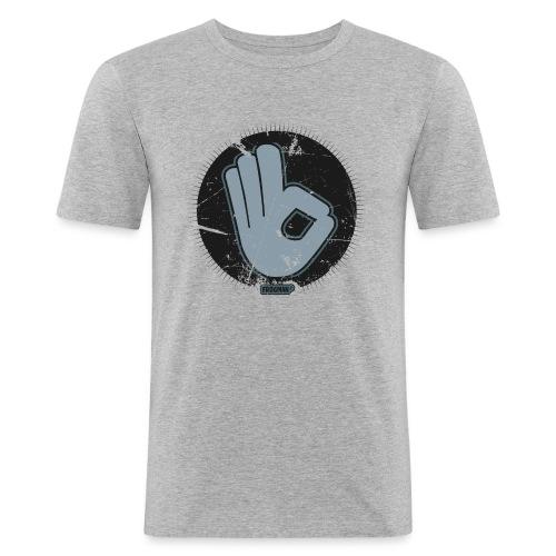 T-shirt Ok, design by Frogman - T-shirt près du corps Homme
