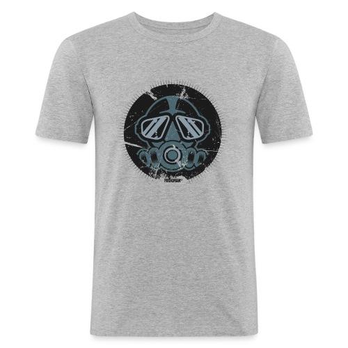 T-shirt Plongeur design by Frogman - T-shirt près du corps Homme
