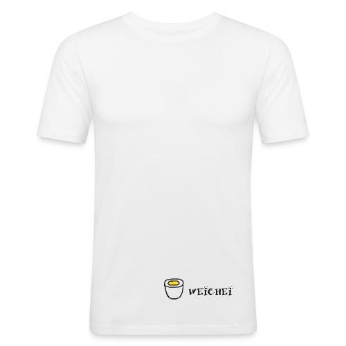 Weichei - Männer Slim Fit T-Shirt