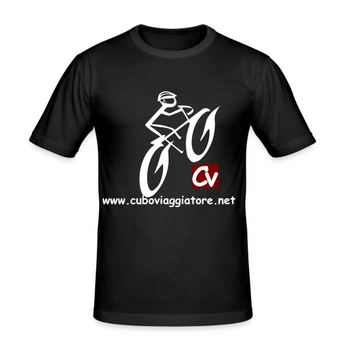 CV Uphill - Men's Slim Fit T-Shirt