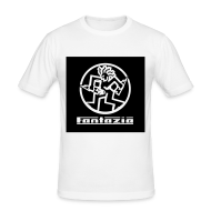 T-Shirts ~ Men's Slim Fit T-Shirt ~ Fantazia Circular dancing man t-shirt