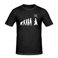 Tee shirts ~ Tee shirt près du corps Homme ~ L'évolution