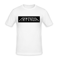 T-Shirts ~ Men's Slim Fit T-Shirt ~ Original Fantazia logo T-shirt