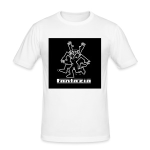 Fantazia dancing man t-shirt - Men's Slim Fit T-Shirt