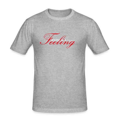 House Is a Feeling Men's T-Shirt Slim Fit / Colours - Men's Slim Fit T-Shirt