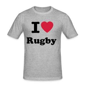 Love Rugby - Tee shirt près du corps Homme