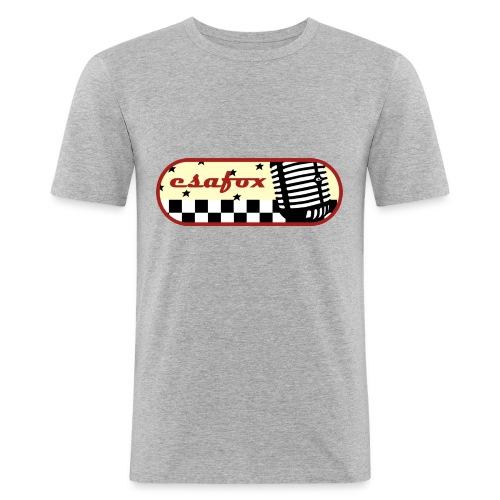 esafox - Männer Slim Fit T-Shirt