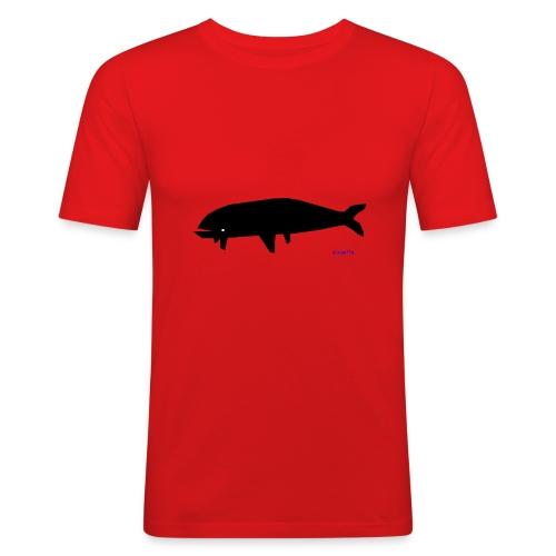 blackfish - Maglietta aderente da uomo