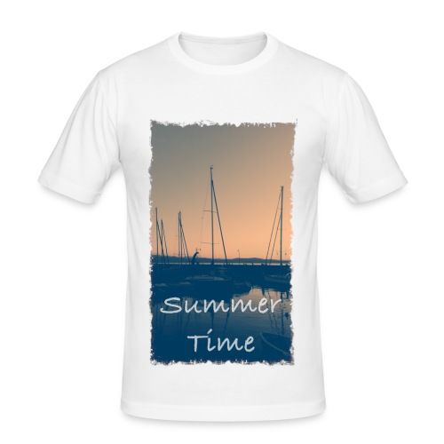 Summer Time - Männer Slim Fit T-Shirt