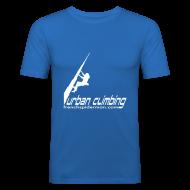 Camisetas ~ Camiseta ajustada hombre ~ URBAN CLIMBING BURJ KHALIFA