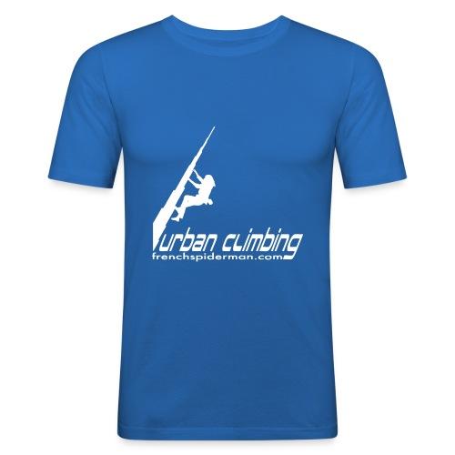 URBAN CLIMBING BURJ KHALIFA - Men's Slim Fit T-Shirt