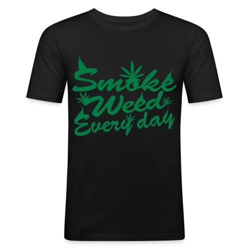 CANNABISHIRT - T-shirt près du corps Homme