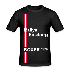 Rallye Salzburg Edition Boxer Racing Team - Männer Slim Fit T-Shirt