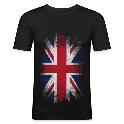 BRITS FLAG TEE - Men's Slim Fit T-Shirt