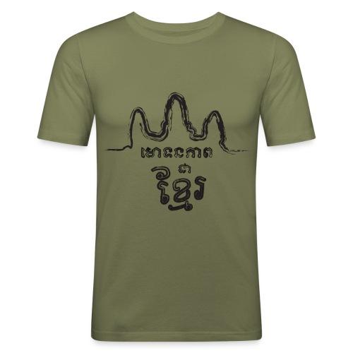 t-shirt khmer  - T-shirt près du corps Homme