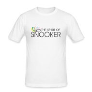 T-Shirts ~ Men's Slim Fit T-Shirt ~ spirit of snooker