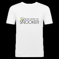 T-Shirts ~ Men's Slim Fit T-Shirt ~ spirit of snooker