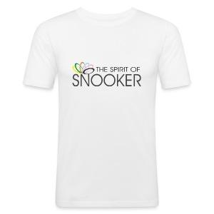 spirit of snooker - Männer Slim Fit T-Shirt