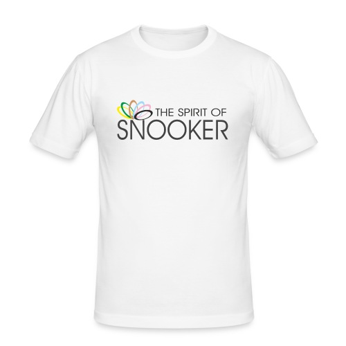 spirit of snooker - Männer Slim Fit T-Shirt