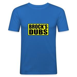 Brock's Dubs - Men's Slim Fit T-Shirt