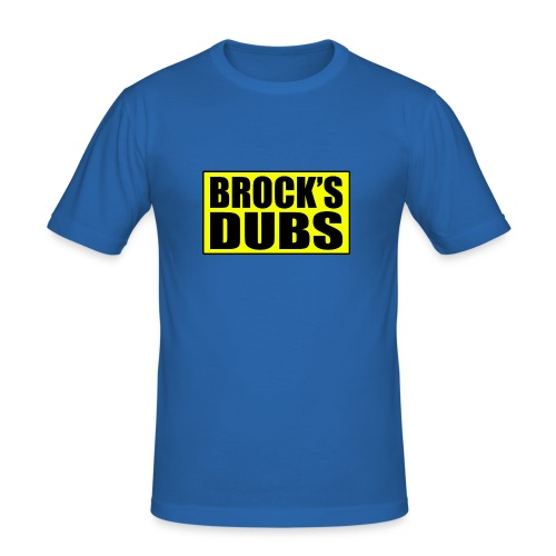 Brock's Dubs - Men's Slim Fit T-Shirt
