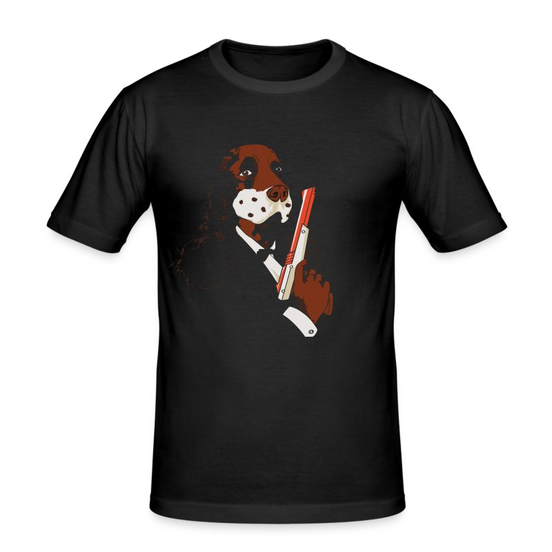 Dog hunt - Tee shirt près du corps Homme