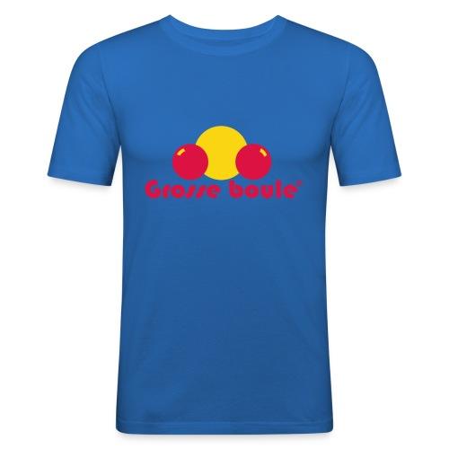 grosse boule - T-shirt près du corps Homme