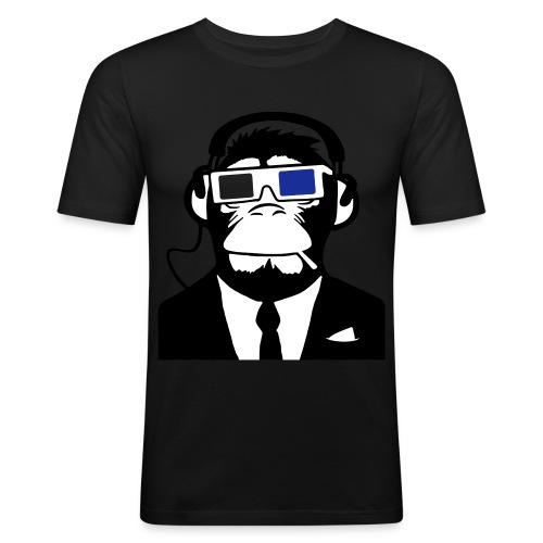 Wacfoam Heren slim fit T-shirt + monkey - slim fit T-shirt