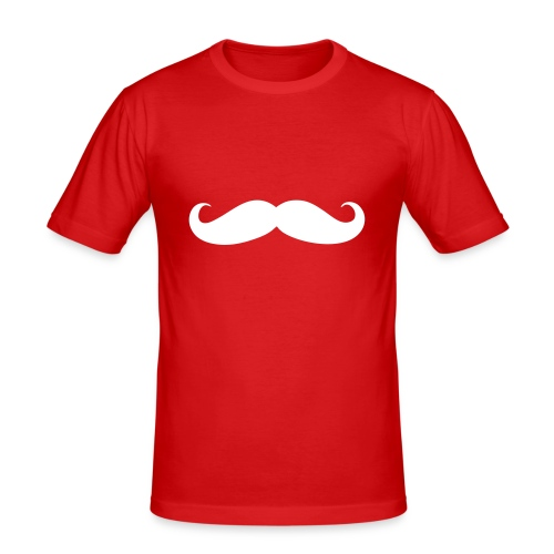 Mustasch - Slim Fit T-shirt herr