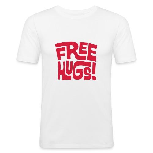 free hugs! - Men's Slim Fit T-Shirt