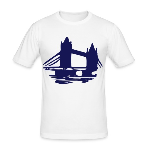 Bridge Tee. - Men's Slim Fit T-Shirt