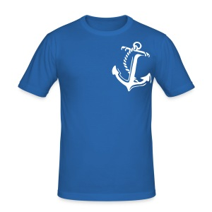 Matrose Anker - Männer Slim Fit T-Shirt