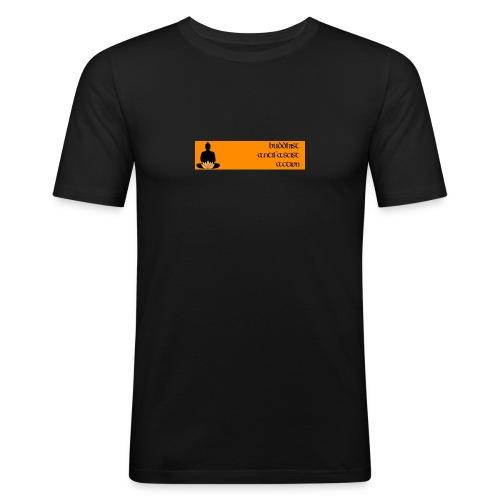 baa slimfit webbanner - Männer Slim Fit T-Shirt