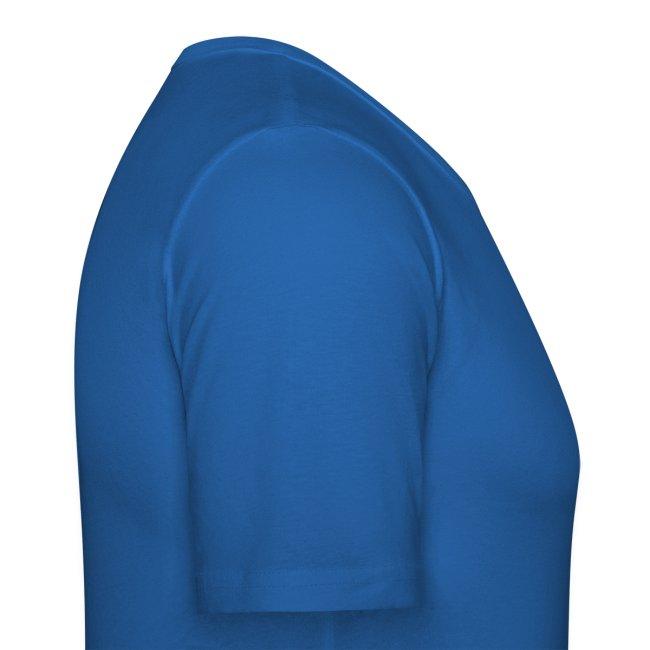 Hypnotic Room - Light Grey logo on Blue