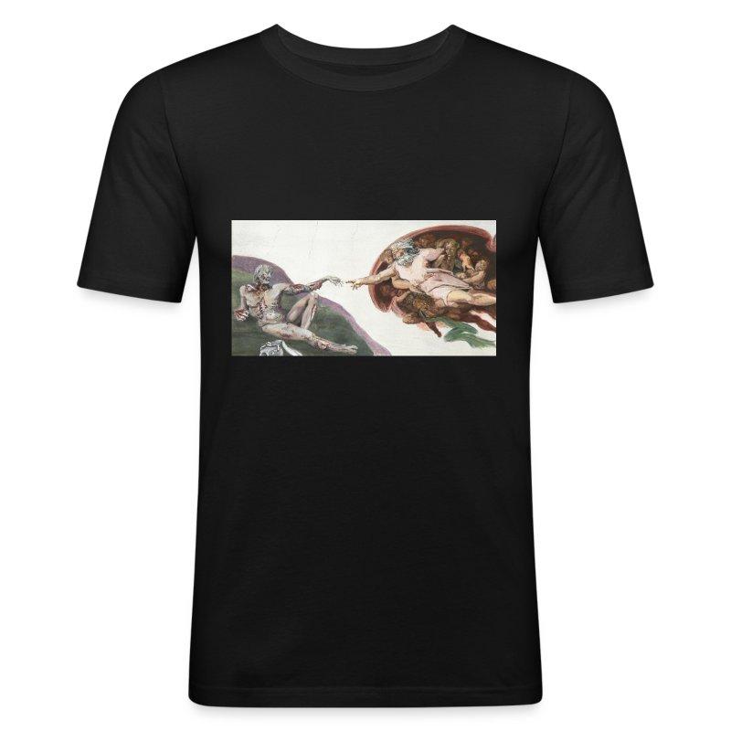 Zombie Creation - Men's Slim Fit T-Shirt
